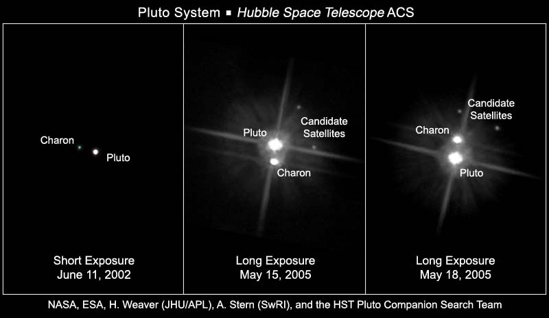 Hubble views the pluto system ccuart Image collections
