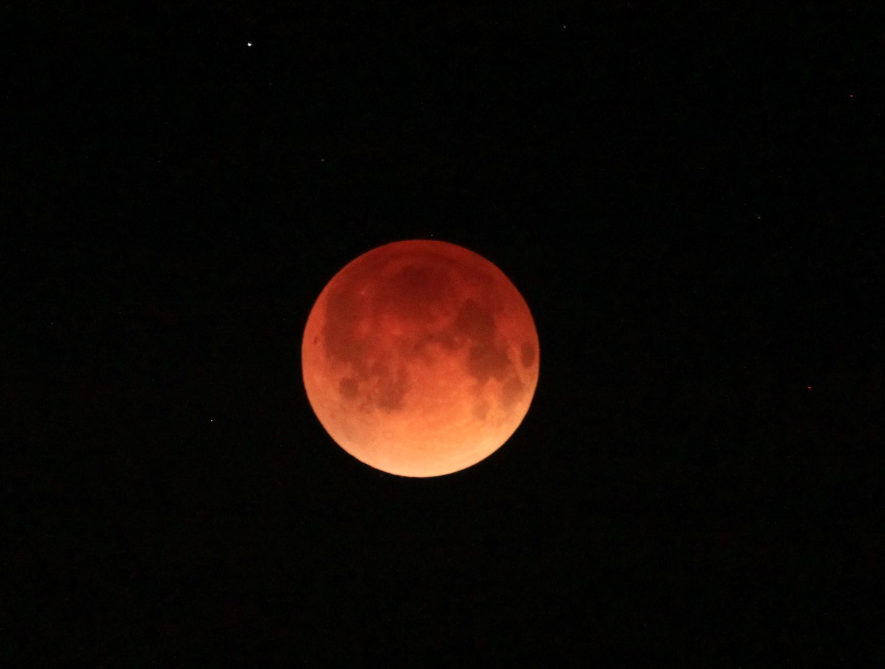 Eclipse Lunar Total - Miami, Abril 15 '14 03:54 UT