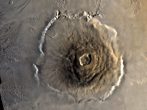 [Colour Image of Olympus Mons]