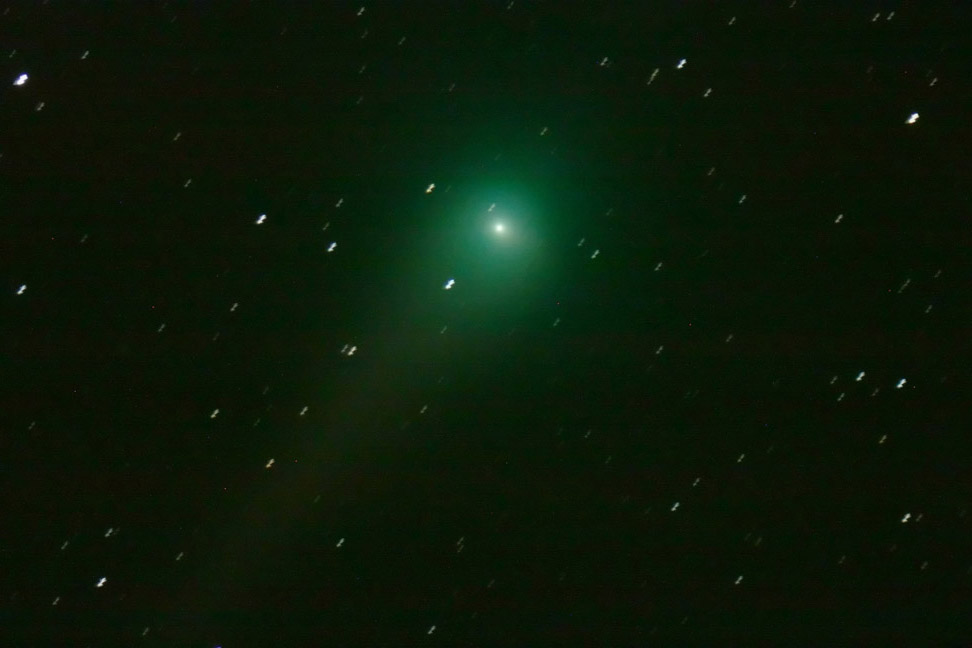 [Comet Lulin (2007/N3) in Leo]